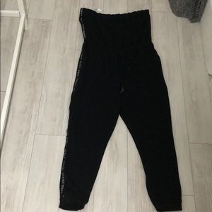 Guess strapless jumpsuit